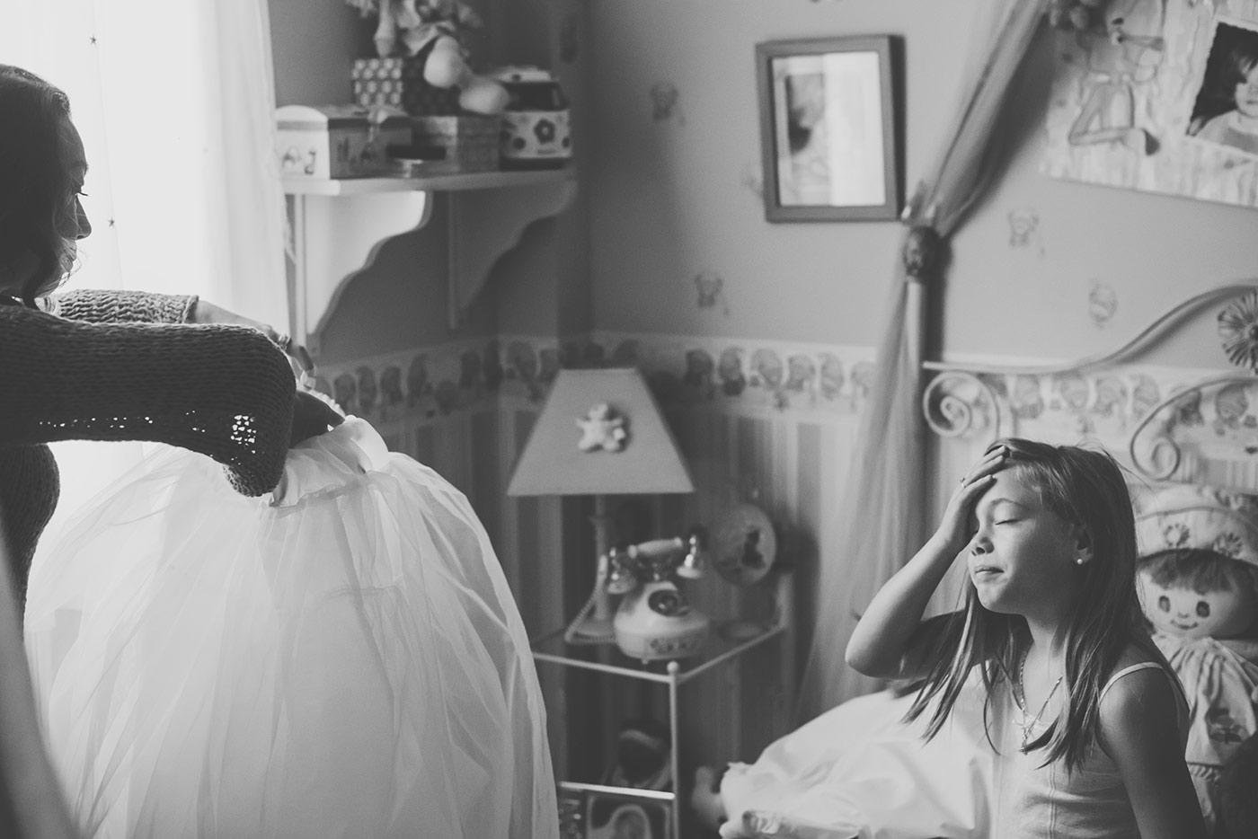 fotografia infantil blanco y negro