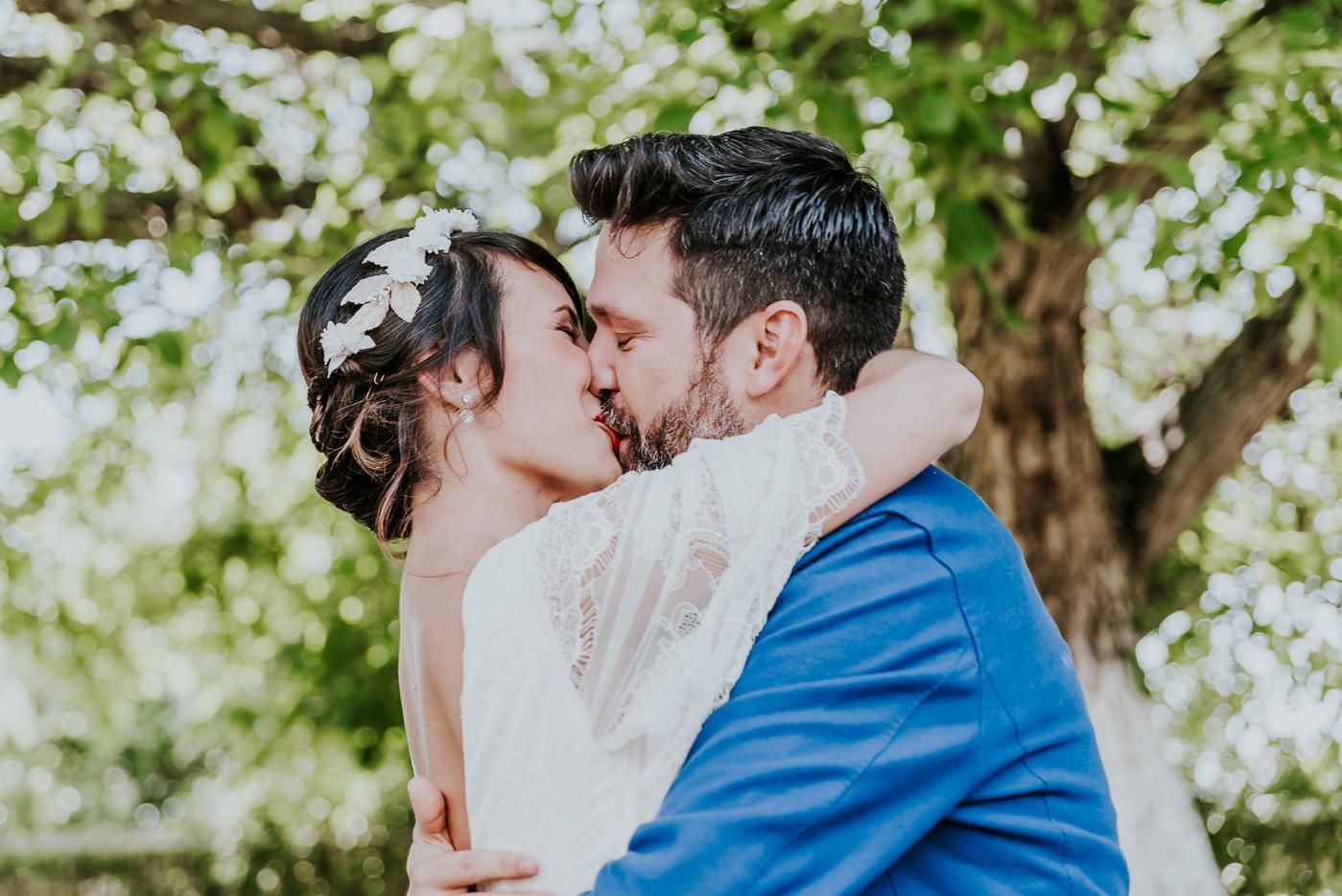 Una boda con mucho encanto. Isaac y Eva.