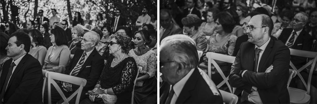 Carpe fotografía, ceremonia civil, Parador de la Arruzafa, Parador de Córdoba, Bodas en Córdoba, Fotógrafos de Córdoba, fotografía de boda, Bodas en el parador de la arruzafa, Boda civil córdoba, invitados, byn