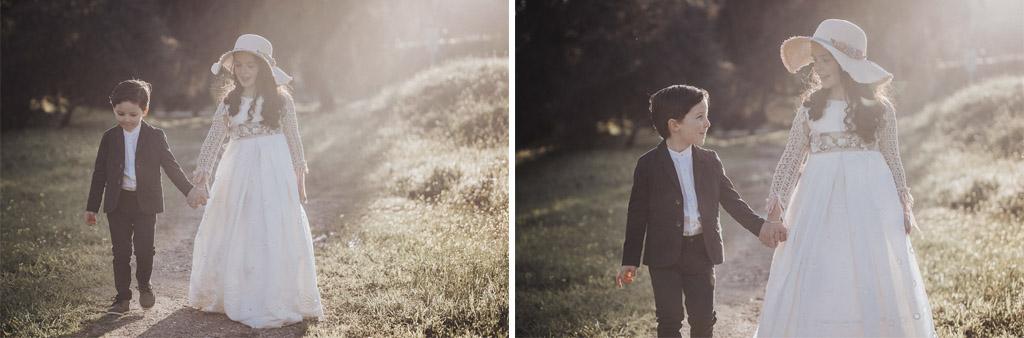paseo por el campo niños