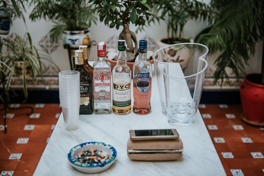 alcohol boda