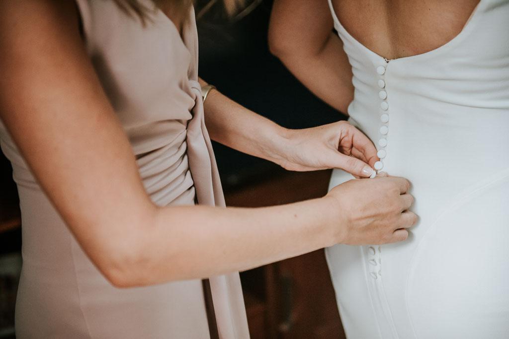 botones traje de novia