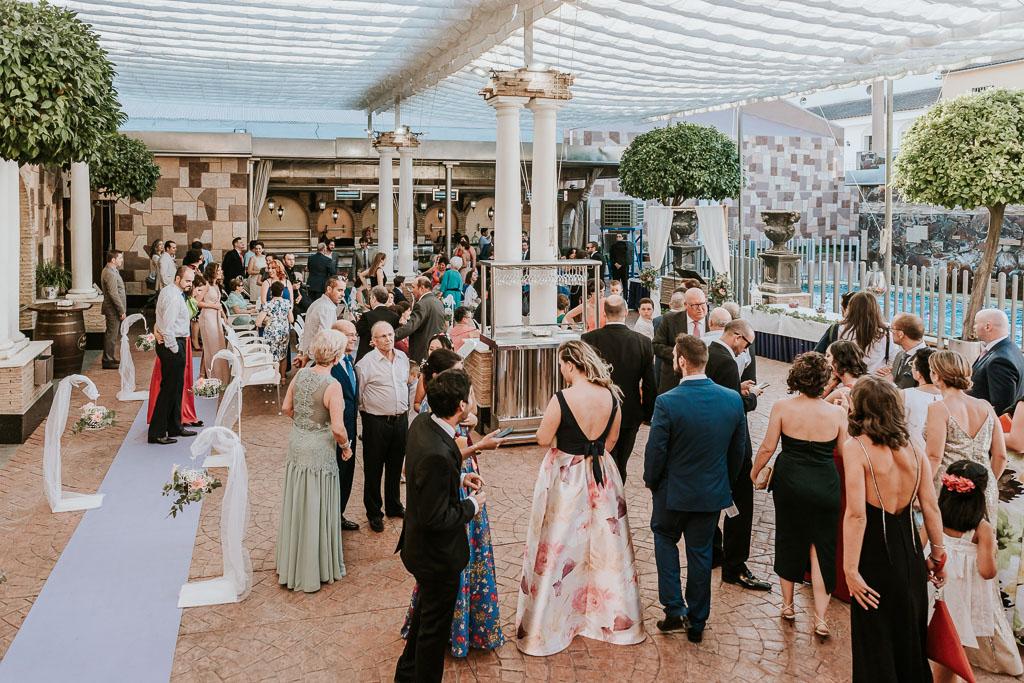 invitados boda Castro del Río