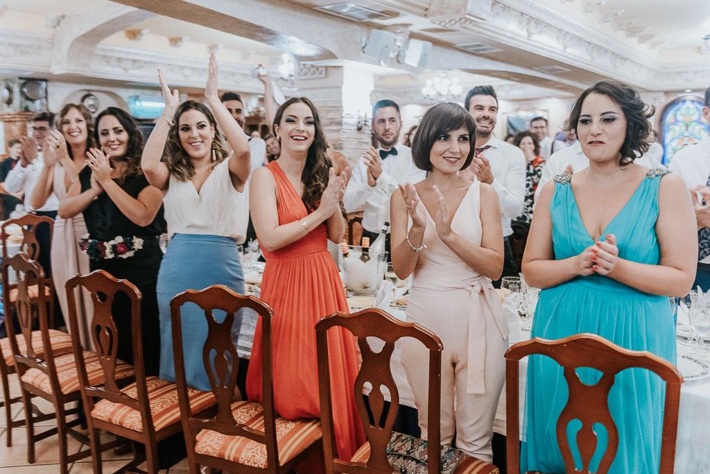 aplausos boda