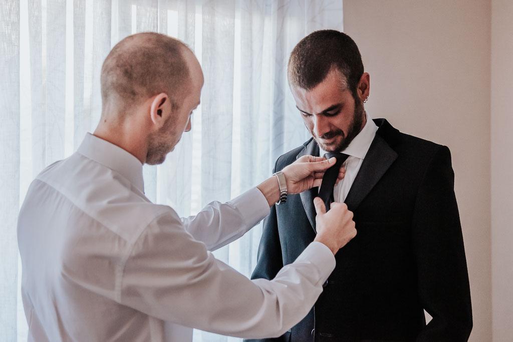 corbata novio